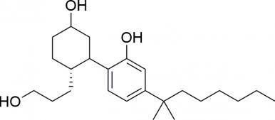 Strukturformel von CP-55940